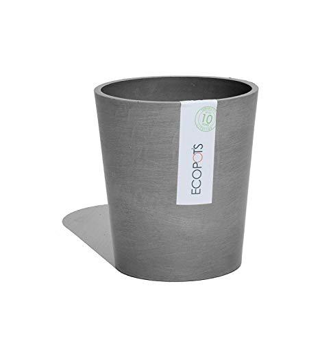 Ecopots Vase Morinda – Pots écologiques en matériau recyclé, diamètre 14 cm, idéal pour orchidée