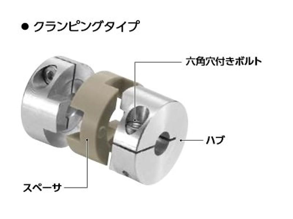 錆びナチュラル報復鍋屋バイテック カプリコン (PEEK) フレキシブルカップリング 特殊環境タイプ MOP-20C-5-8