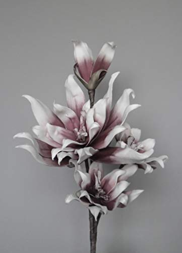 Unbekannt Blütenzweig mit Stil - Berry - Kunstblume Blüte Schaumblüte Foam Blume