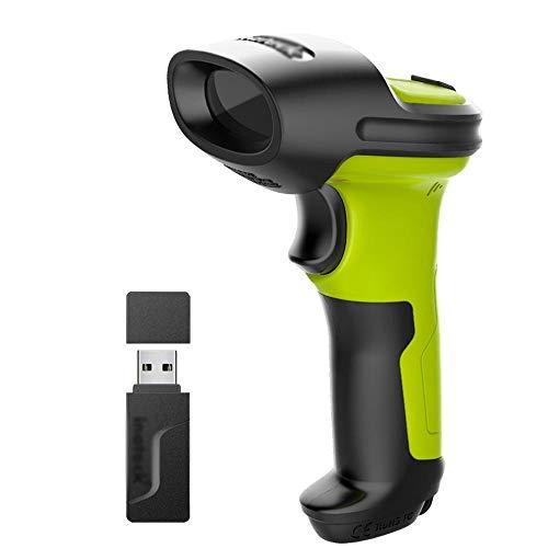 Barcode Scanner sans Fil, Batterie 2600mAh, Plage 35m, Automatique numérisation Rapide et précise GAONAN
