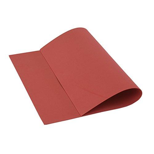 Cisne 2013, S.L. 10 láminas de Goma Eva 40x60 cm, 2mm Grosor Rojo