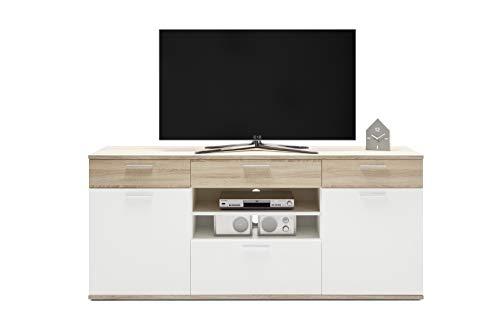 Stella Trading BACKSTAGE TV-Sideboard, Holzwerkstoff, B/H/T ca. 190/83 / 46 cm