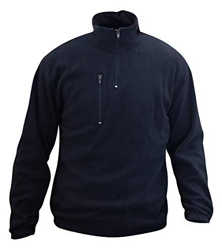 C.B.F. - Produzione professionale abbigliamento da lavoro Giacca in Pile - Felpa in Pile - Giubbetto in Pile - Colore Blu (L)