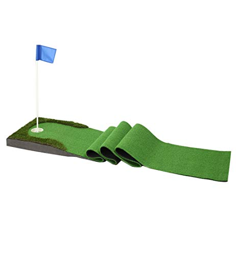 Learn More About ZTJQD Indoor Golf Putting Practice, Home Mini Golf Practice Mat (Flag + Ball) 0.5 Ã...