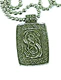 Enchanted Jewelry Trove of Valhalla Urnes Snake for Skill and Ingenuity Charm Amulet Talisman Pendant