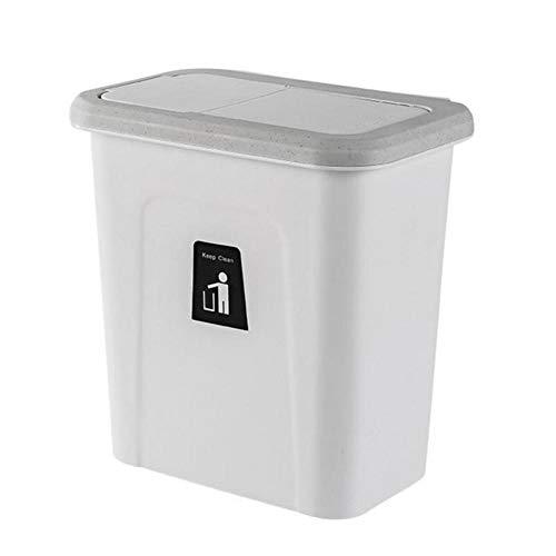 Lankater Trash Can, Küche-kabinett-Wand-papierkorb Müllbehälter Abfallbehälter Mülleimer Abfall Kann Für Haus Küche Büro Hang (zufällige Farbe)
