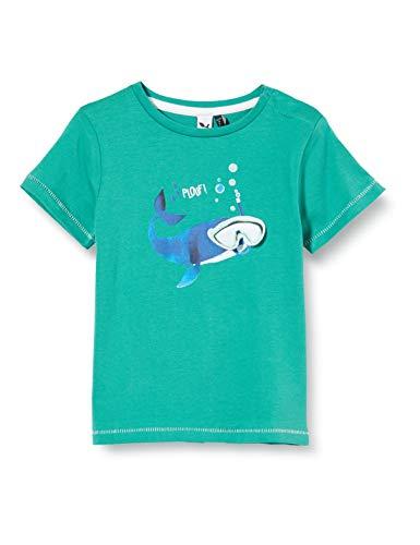 3 Pommes 3q10033 tee-Shirt MC Camiseta, Verde (Vertec Moyen 54), 9-12 Meses (Talla del Fabricante: 9/12M) para Bebés