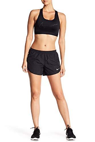 Nike Womens Dry Modern Tempo Running Shorts AJ4713 (Small, Black/Reflective Silver)