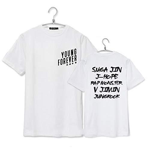 A Cup of Tea with SUGA KPOP BTS BangTan Boys T-Shirt Damen Kurzarm Tops JIMIN