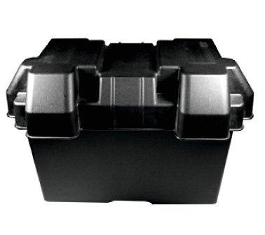 Batteriekasten / Batteriebox / Batteriehalterung schwarz