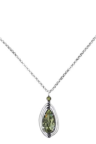 Konplott Kette Amazonia - green - size S - antique silver