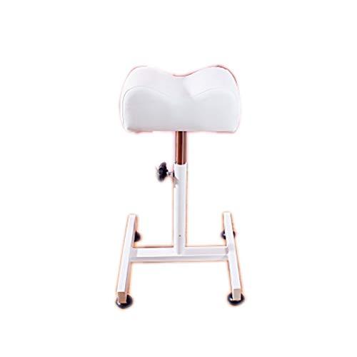 CXD Salon de beauté Repose-Pieds Tabouret Lift pour pédicure, manucure Chaise de Massage Spa Pieds réglable équipement poseurs d'ongles Repose-Jambes Professionnelle,Noir