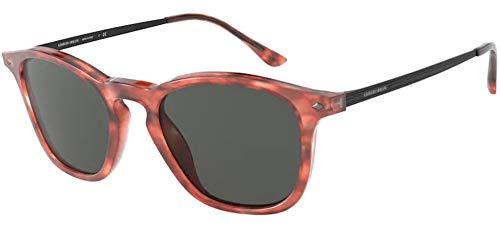 Giorgio Armani Gafas de sol AR8128 556887 gafas de sol Hombre color Rojo gris tamaño de lente 51 mm