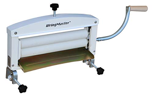 """WringMaster Clothes Wringer Hand Crank - Extra Wide 14"""" Rollers - for Home, Boating, Camping, Laundry Dryer"""