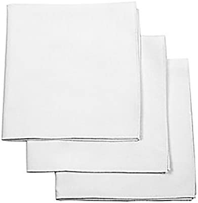 Painted Stitches Mail order Mens handkerchiefs Max 45% OFF White straight a edge with