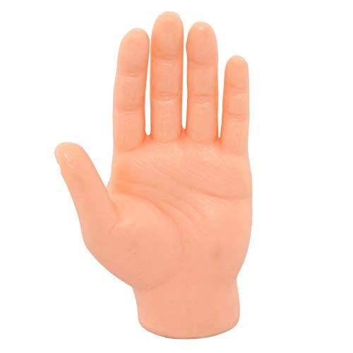 Freak Scene Finger-Hände - 1x Fingerpuppe Hand - hell Links