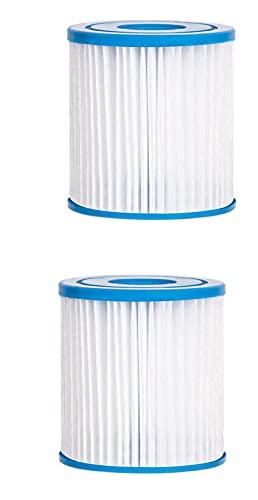 woejgo Cartucho de filtro de agua tipo H, cartucho de filtro tipo H para piscinas Intex Intex 29007 (2 unidades)