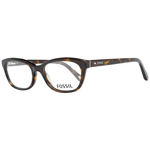 Fossil Brillengestelle FOS 6058 Rund Brillengestelle 53, Mehrfarbig