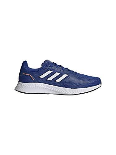 adidas RUNFALCON 2.0, Zapatillas para Correr Hombre, Team Royal Blue FTWR White Core Black, 46 2/3 EU
