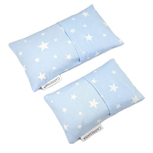 Set Saquito térmico anti cólicos (extra-pequeño para recién nacidos y normal) (Estrellas)