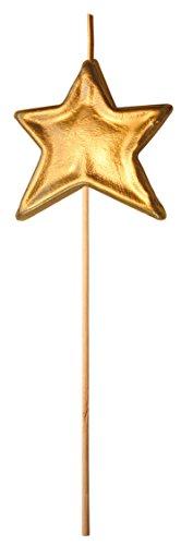 Velas cumpleaños Vela fantasía Estrella Dorada Vela de Aniversario