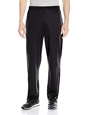 Hanes Men's Sport X-Temp Performance Training Pant with Pockets, Black, XL
