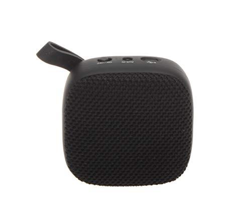 JVC Portable Wireless Speaker with Surround Sound, Bluetooth 5.0, 7-Hour Battery Life - SPSA1BTB (Black)