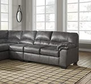 Ashley Furniture Signature Design - Bladen Contemporary Left Arm Facing Sofa - Sectional Component ONLY - Slate