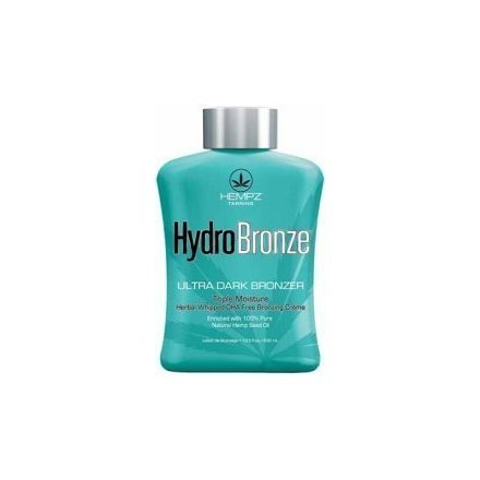HEMPZ TANNING HYDROBRONZE HYDRO BRONZE SUNBED LOTION CREAM 400ML TANNING
