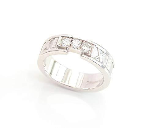 Tiffany & Co Ring 18ct White Gold & Diamonds