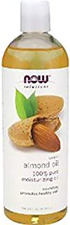 NOW Foods Sweet Almond Oil, Moisturizing Oil, 16 ounce