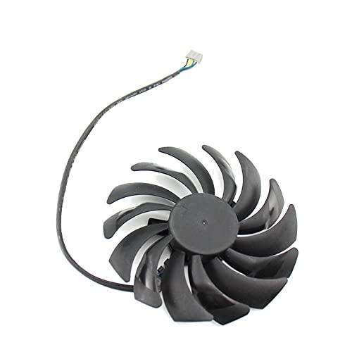 PLD10010B12HH DC12V 0.40A 4PIN RTX 2070 2070super Fan para MSI para GeForce RTX2070 Super Armor OC Tarjeta de gráficos Fan (Blade Color : White)