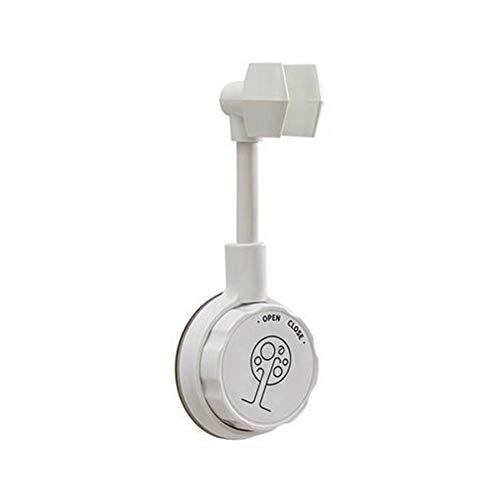 360 ° drehbarer Saugnapf-Duschkopfhalter Selbstklebender multifunktionaler verstellbarer Wand-Duschhalter Handbrause-Duschhaken Kostenloses Stanzen Nahtlose Duschgestell-Werkzeuge mit fester Basis