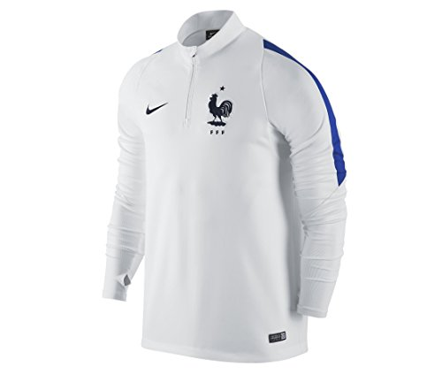Nike FFF Top Drill Herren Fußballtrikot Mehrfarbig Blanco Azul Negro Medium