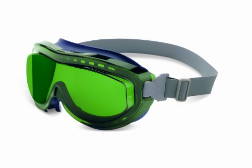 Uvex S3430X Flex Seal Safety Goggles Shade 3.0 Lens Navy Frame