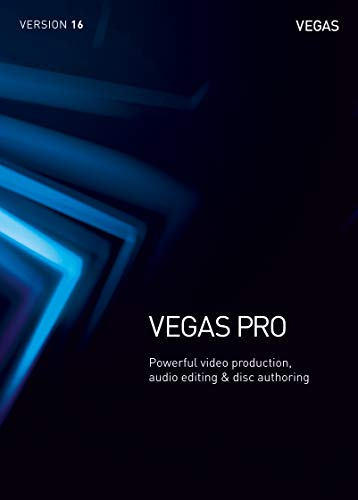 VEGAS Pro|16|1 Device|Perpetual License|PC|Disc|Disc