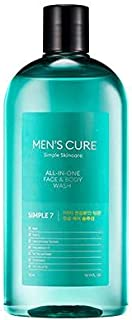 Missha Men's Cure Simple 7 All-In-One Face And Body Wash, 300ml
