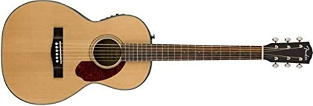 Fender CP-140SE Acoustic-Electric Guitar with Case - Parlor Body Style - Natural Finish