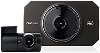 モニター付 駐車中も録画 前後2カメラドライブレコーダー N10 ドラレコ 駐車監視 フルHD IPSパネル タッチパネル 広角 フォーマットフリー 3年保証付 IROAD 煽り防止