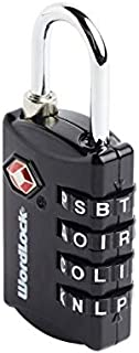 Korjo Luggage Lock, 3 Centimeters, Black