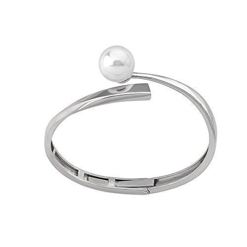 Majorica Cane Armband 155680120000101 Frau Silber Clave al Sol