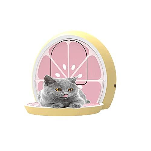 HUFFGOUT Bandeja de Basura para Gatos, Cajas de Arena Totalmente Cerradas, prevención de Salpicaduras, desodorización, fácil de Limpiar, potenta de Mascotas Caja de Arena para Gatos