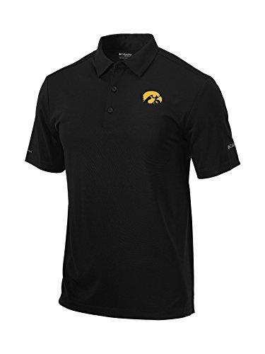 NCAA Men 's Drive Polo, schwarz, Mittel