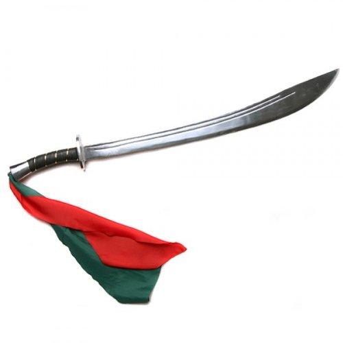 DEPICE Trainingswaffe Kung-Fu Schwert Metall - Dao - Säbel, Silber, w-mks