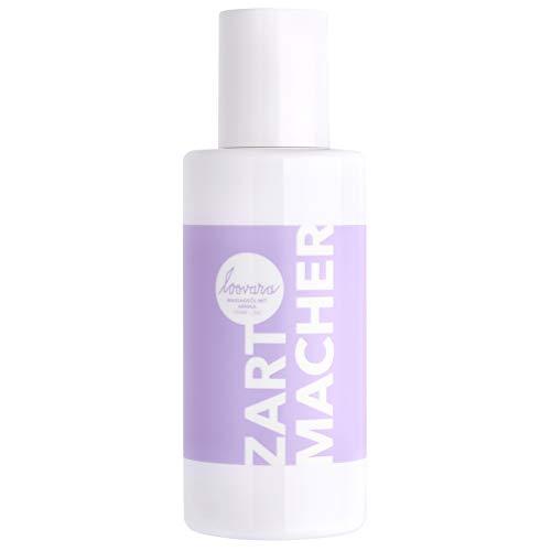 Loovara ZARTMACHER – Premium Massageöl (100 ml) | mit hochwertiger, wertvoller Arnika | pflegendes Erotik-Öl | Vorspiel & Partnermassage | Sex-Spielzeug geeignet, dezenter Duft
