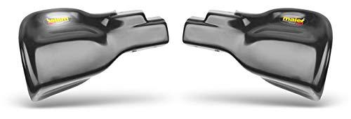 Quad ATV handbeschermers zwart reserveonderdeel voor/compatibel met Kawasaki KLF 300 Bayou