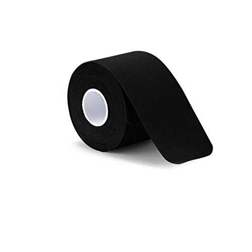 LLine Spierbandage Sport Kinesiologie Tape Medische banden Elastische spiersticker Spierelastoplast Elastische verbanden, zwart