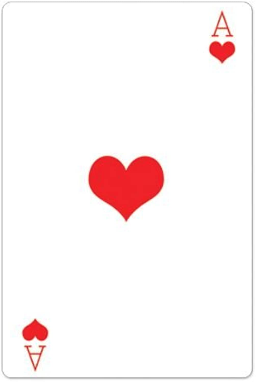 IdealWigsNet Herzass Spielkarte Pappaufsteller - 1.54m
