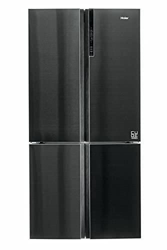 Haier Cube 90 Serie 7 HTF-610DSN7 frigo américain Autoportante 628 L F Noir