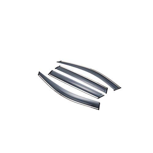 Lfldmj Visera de Ventana de Coche, protección contra la Lluvia, Cubierta de Refugio, Protector de Lluvia para Ventana de Estilo de Coche, para Hyundai Sonata 2011-2014